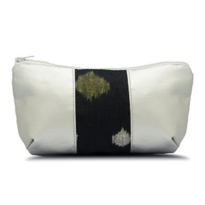 Diana Pouch Silver & Starry Black