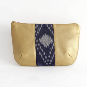 Diana Pouch Gold & Psyched Marine